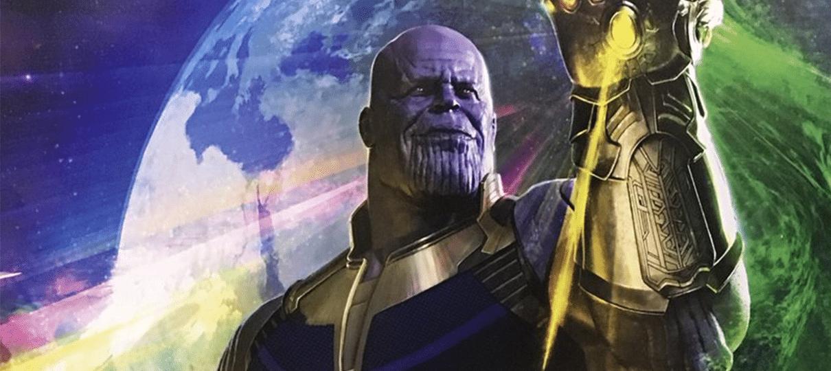 Durante a San Diego Comic Con 2017, a Marvel divulgou um cartaz com um Thanos empunhando a manopla do infinito com todas as jóias. Abaixo do vilão estão os Filhos de Thanos, a Ordem Negra. Veja: O longaunirá os heróis de todos os filmes do Universo Cinematográfico Marvel até o momento, como o Homem-Aranha, os …