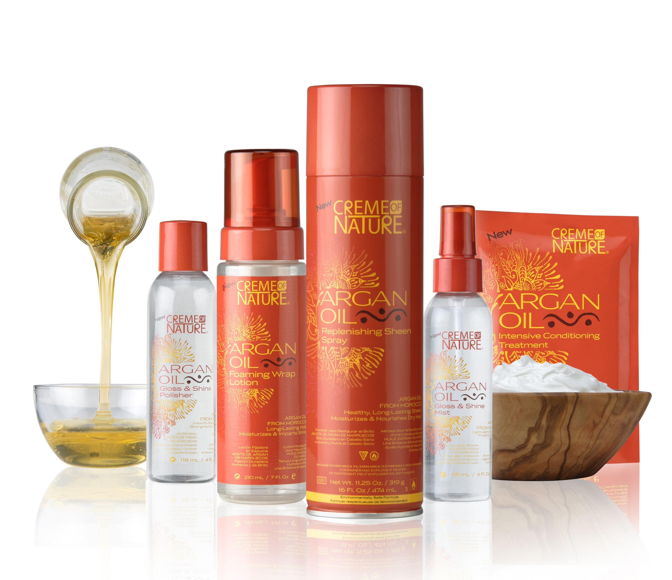 hair products Cream of Nature Created Hair Products with