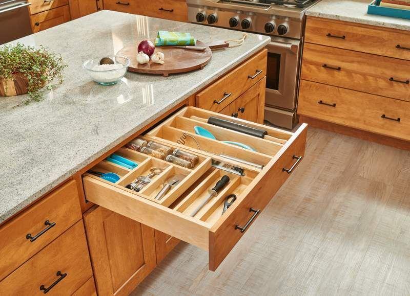 Rev A Shelf 4wtcd 30sc 1 In 2020 Cutlery Drawer Rev A Shelf Kitchen Design