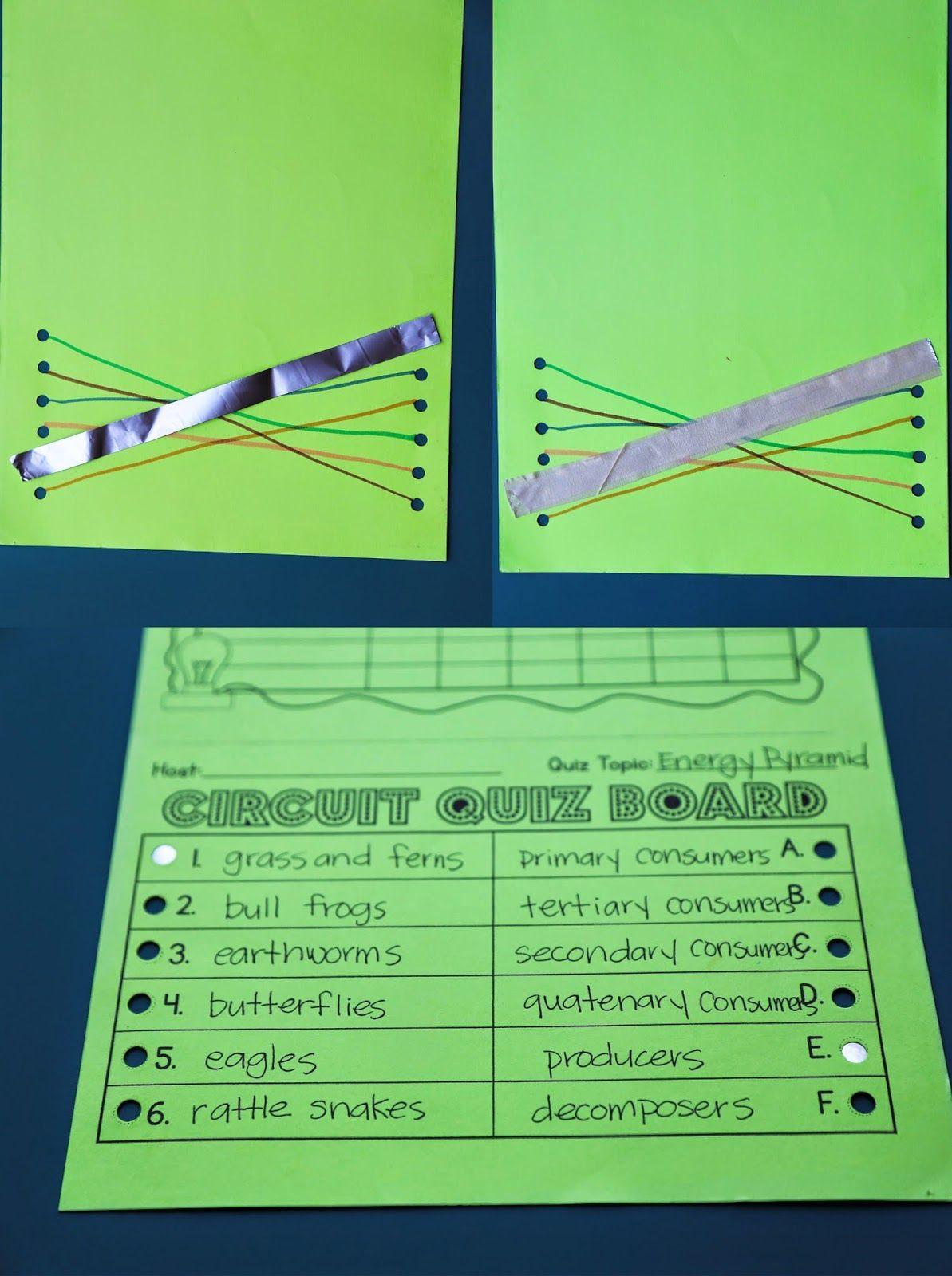 Electrical Circuit Game Show Lesson Teacher Thrive Circuit Games Paper Circuits Electric Circuit Games