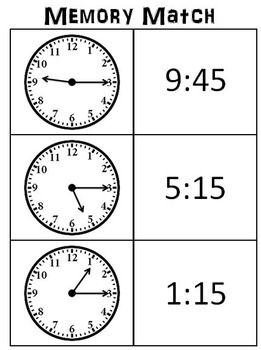 Telling Time 2nd Grade - The Curriculum Corner 123  |Common Core Time Worksheets
