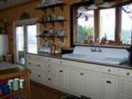 How To Install Vintage Kitchen Sinks Ehow Sink Remodel Cast Iron