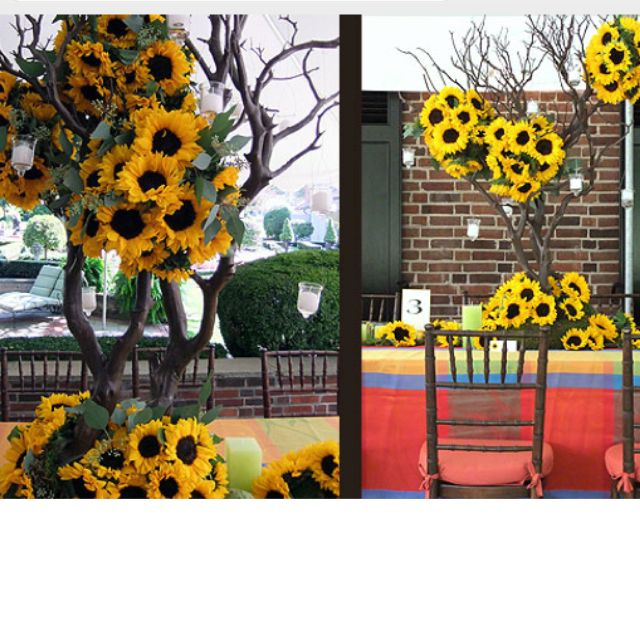 Sunflower Arrangements - Summer