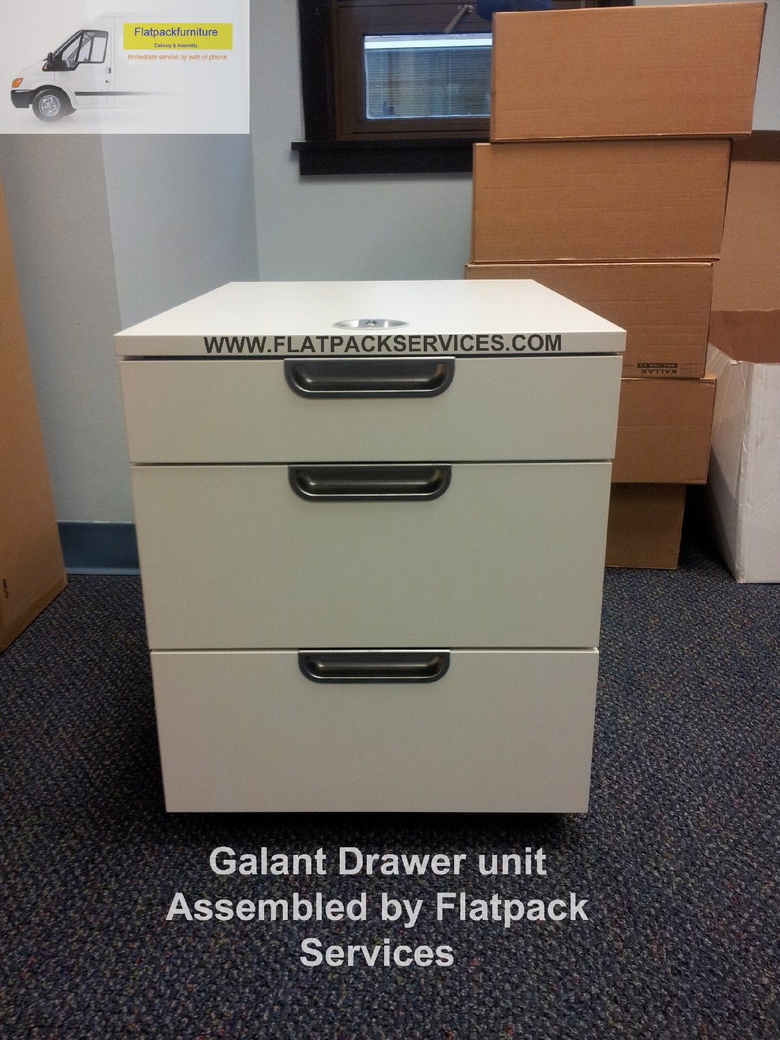 IKEA Galant File Cabinet Article Number: 603.497.09 Assembled In NYC By  Flatpack Www