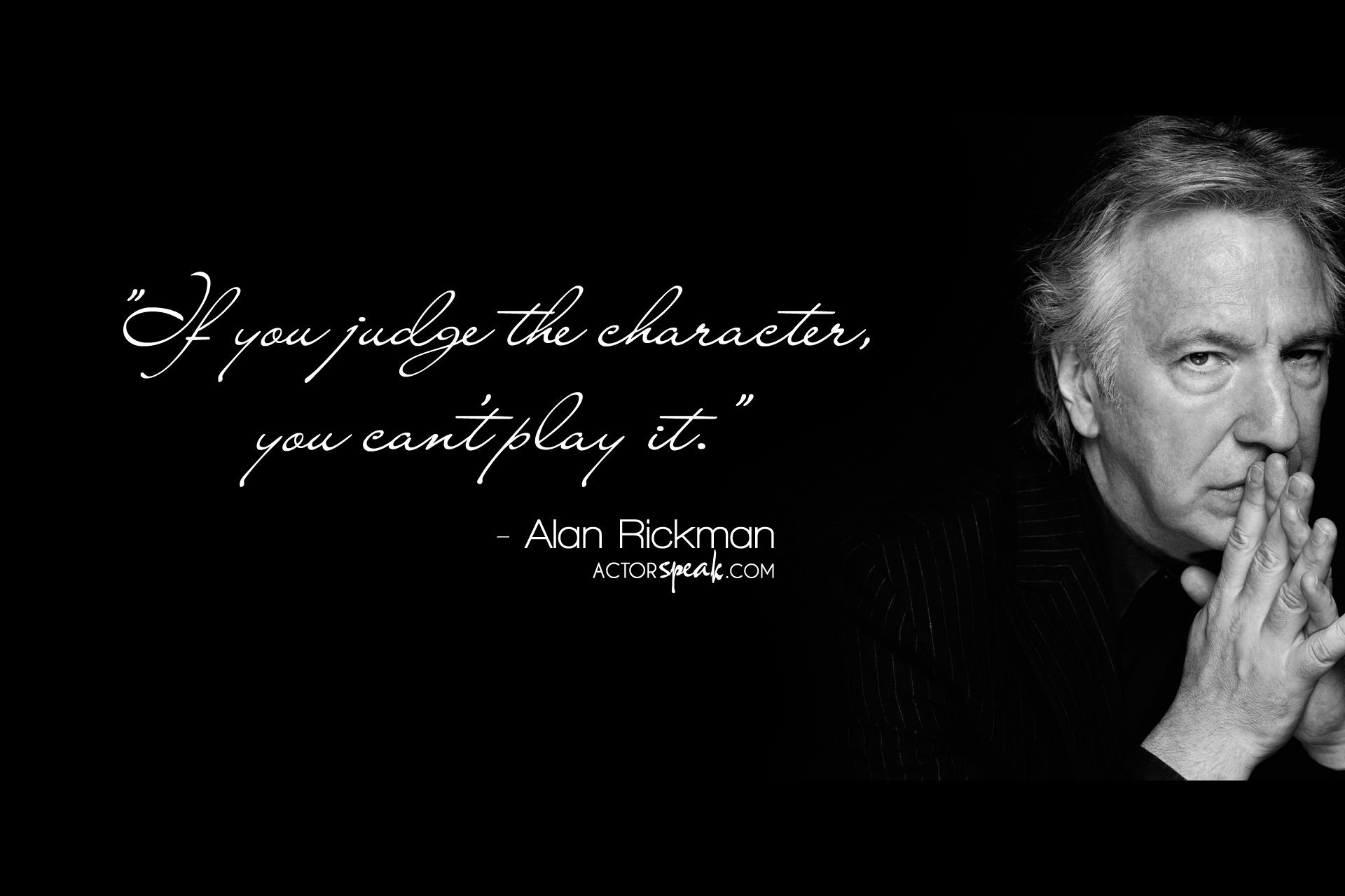 Betty white quotes quotesgram - Alan Rickman Quote On Acting