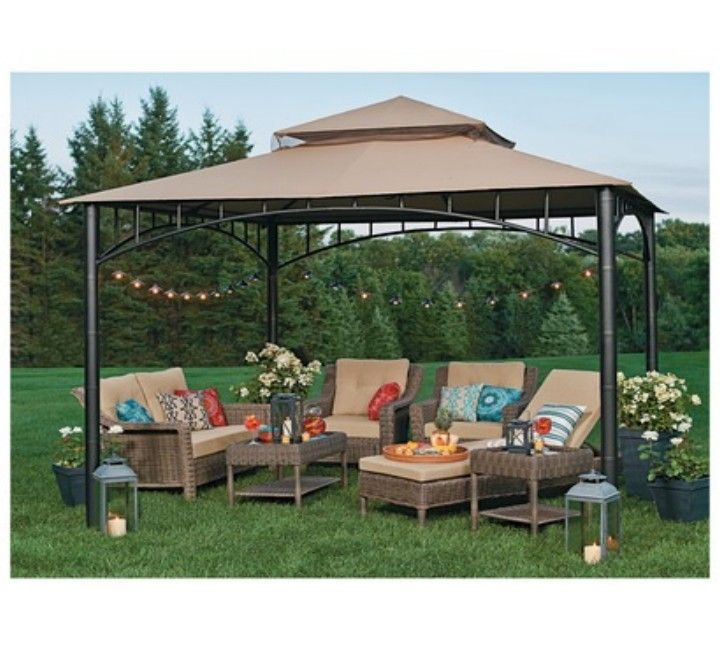 Attrayant Backyard Gazebo Furniture