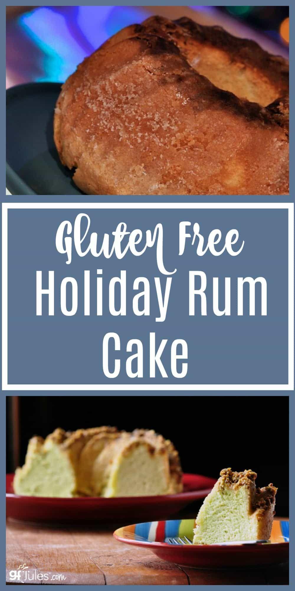 Gluten Free Holiday Rum Cake Recipe Gluten Free Cakes Rum