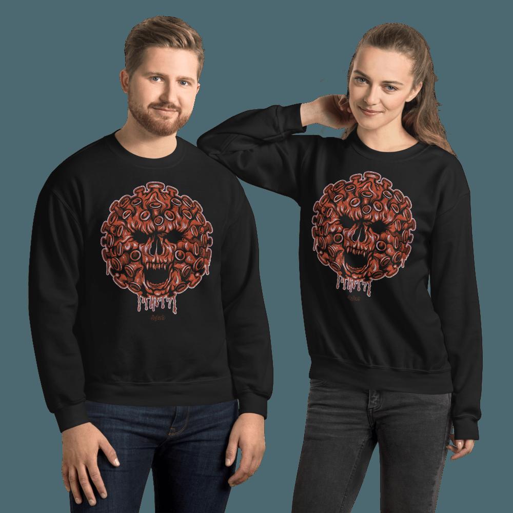 Cave-19 | Unisex Sweatshirt - Black / L