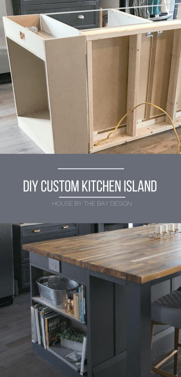 Granite Top Kitchen Cart Natural Base The Furniture Blogger Ikea Kitchen Island Custom Kitchen Island Diy Kitchen Island