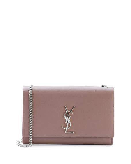 Saint Laurent monogram small kate shoulder bag, blush £1,226.86