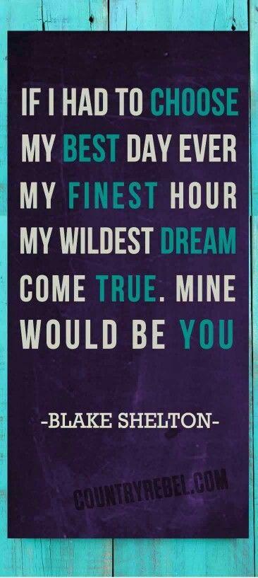 -Blake Shelton-