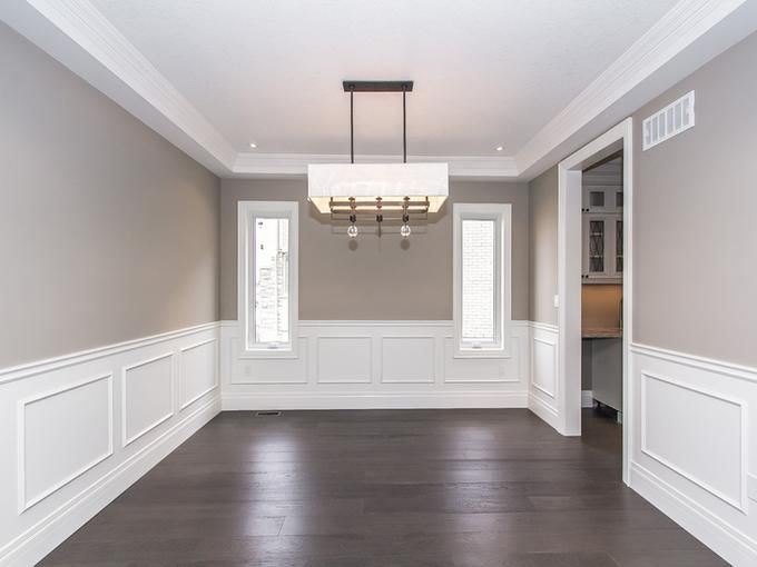 My Visual Listings Not Just A Listing A Showing Dining Room Wainscoting Interior Paint Colors For Living Room Home Room Design