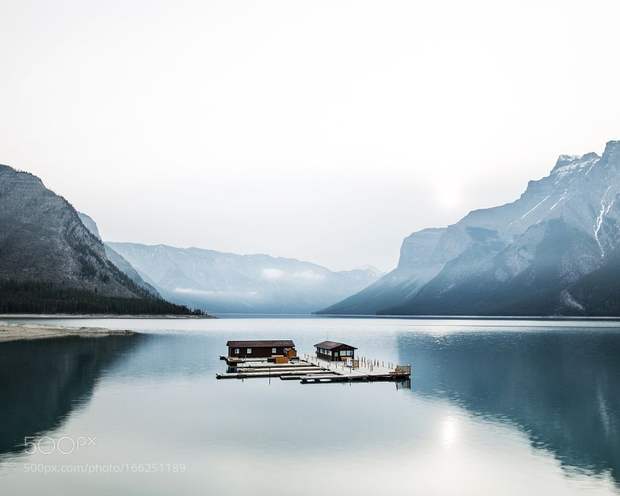 lake minnewanka. banff. alberta. by tannerwendell. Please Like http://fb.me/go4photos and Follow @go4fotos Thank You. :-)