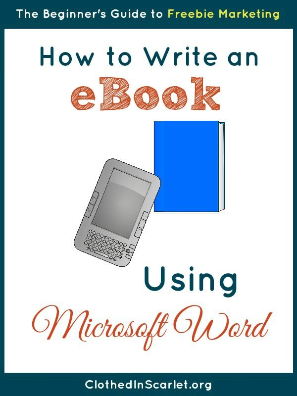 How to Write an eBook using Microsoft Word Microsoft word - microsoft word book template free