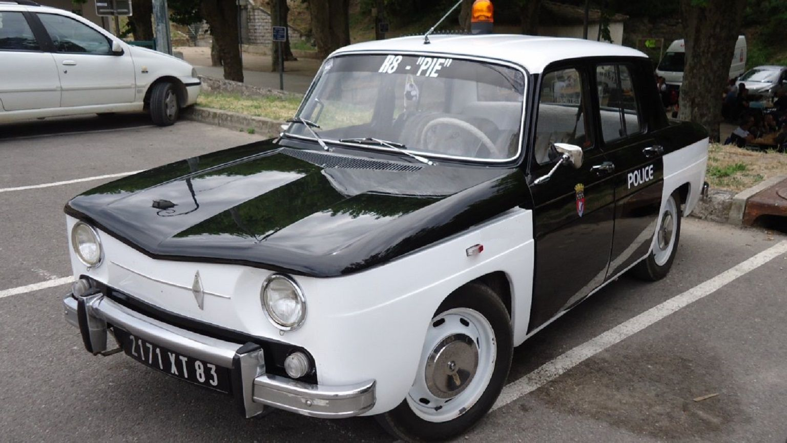 1962 Renault 8 - Préfecture de Police de Paris - Police Nationale - France