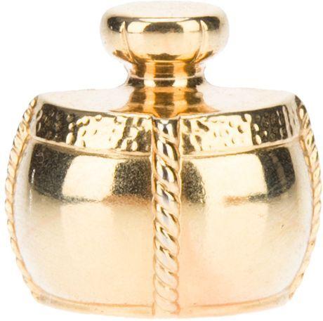 PinYves Laurent Gold Saint Yvs Bottle Vintage Perfume kZOiPXu