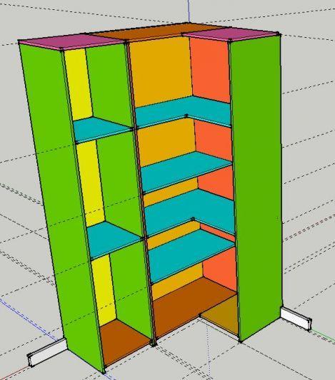 fermeture d 39 un dressing en angle 4 messages projets essayer. Black Bedroom Furniture Sets. Home Design Ideas