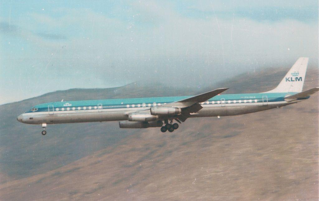 Klm Douglas Dc 8 63 Ph Dea Lgat 1981 Aviones Aviones