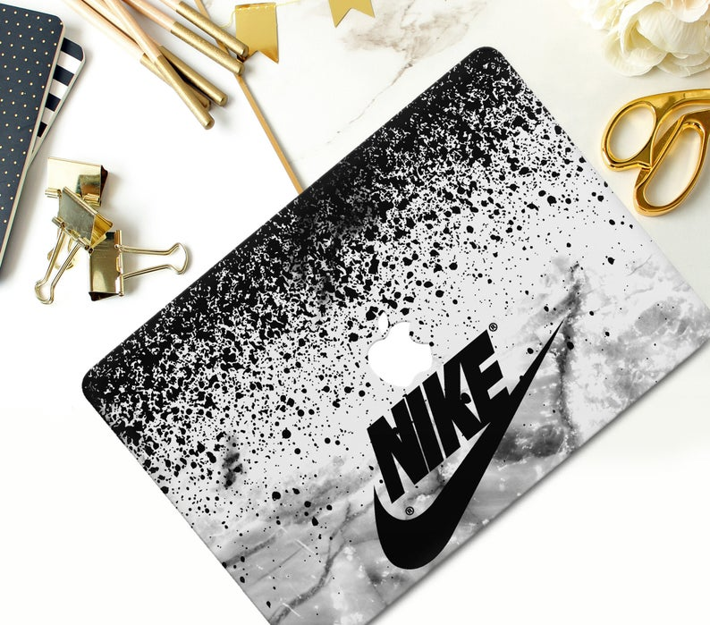 Sport Nike Skins Macbook 12 inch Pro 15 Retina Pro 16 Black | Etsy