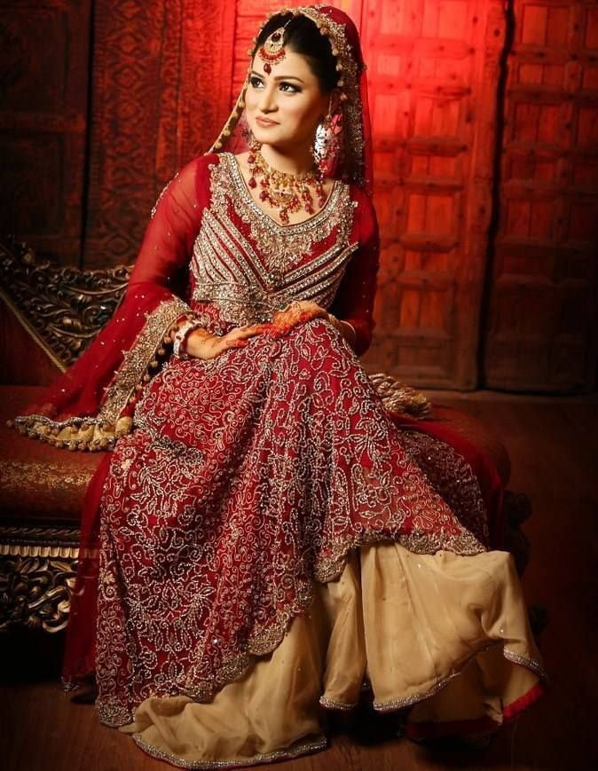 Pakistan and indian bridal wedding dress collection 2013 for Indian wedding guest dresses uk