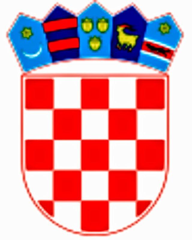 Slavonski Brod Je Divan Grad Na Rijeci Savi Sijecanj 2015 Coat Of Arms Croatia Flag Croatian Flag