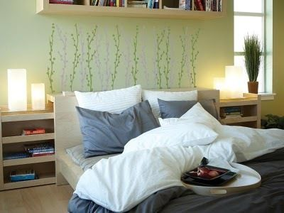 4 Ideas for a Cheap Headboard Wall Makeover Kitchen unit