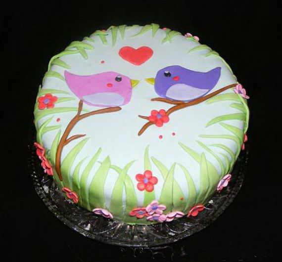 Spring Theme Cake Decorating Ideas Spring Cake Cake Decorating