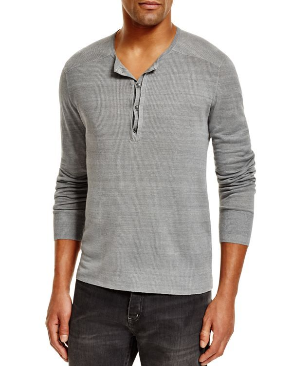 John Varvatos Henley Sweater