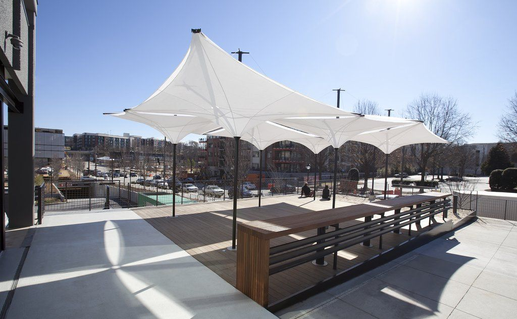 Designed by MDT and Grimshaw Architects the Tensilation (Type EV series) canopy represents & Designed by MDT and Grimshaw Architects the Tensilation (Type EV ...