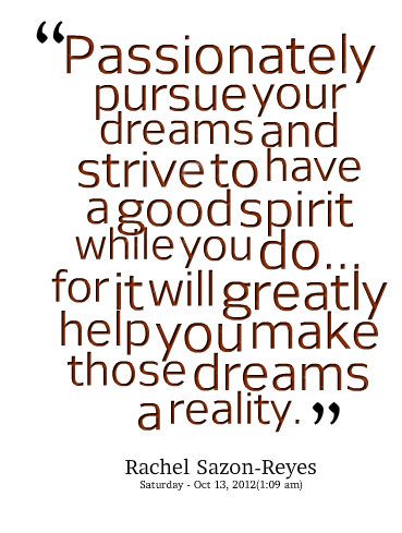 love your dreams