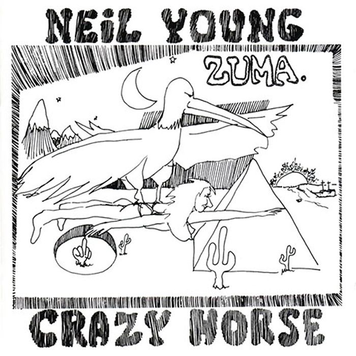 Zuma Lp Cover By John Mazzeo 1975 The Cover Made The