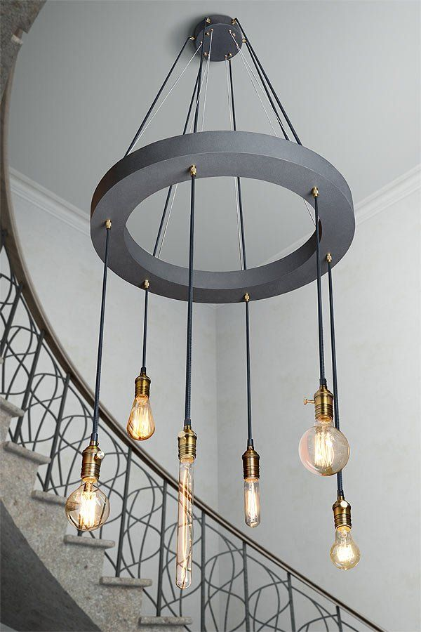 150 Over Stairwell Lights Would Have To Shorter And Longer In
