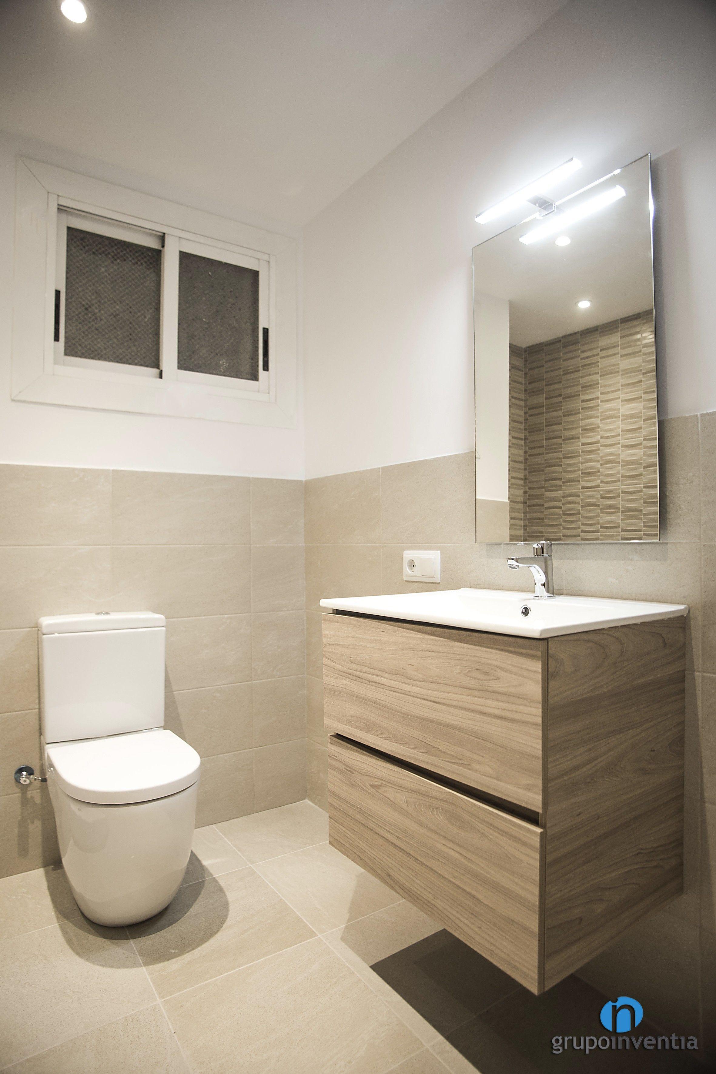 para el diseño interior del cuarto de baño se apostó por un