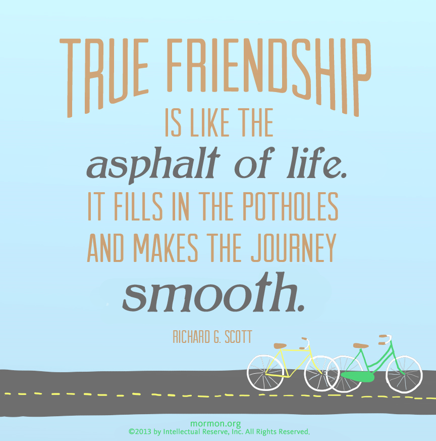 Inspirational Book Of Mormon Quotes: LDS On Friendship