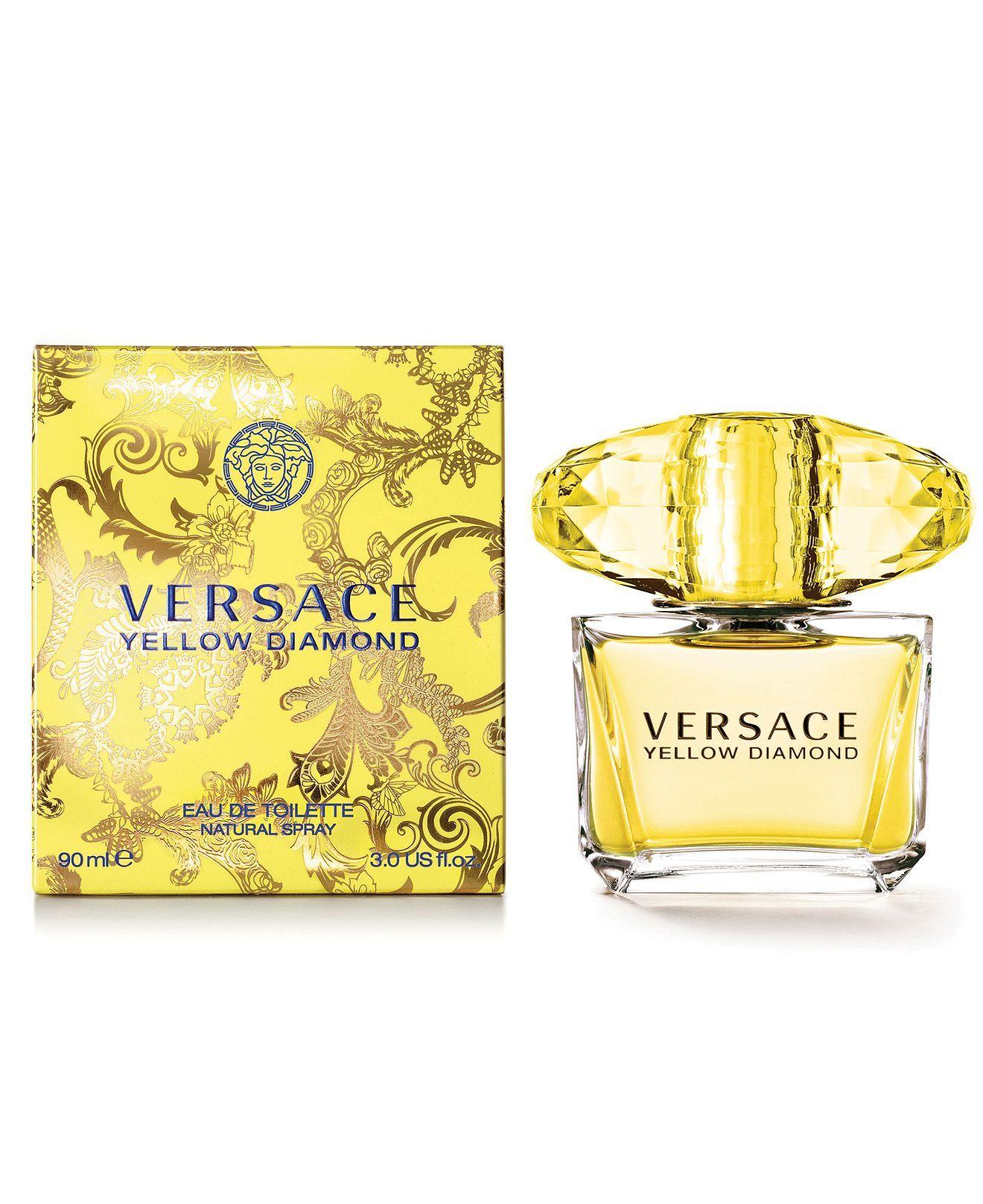 Yellow Diamond Eau de Toilette Spray, 3 oz Versace