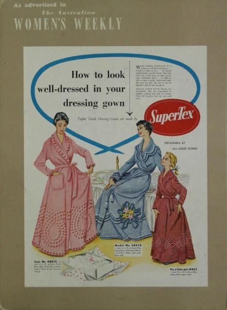 SuperTex dressing gowns | Nostalgia and Childhood