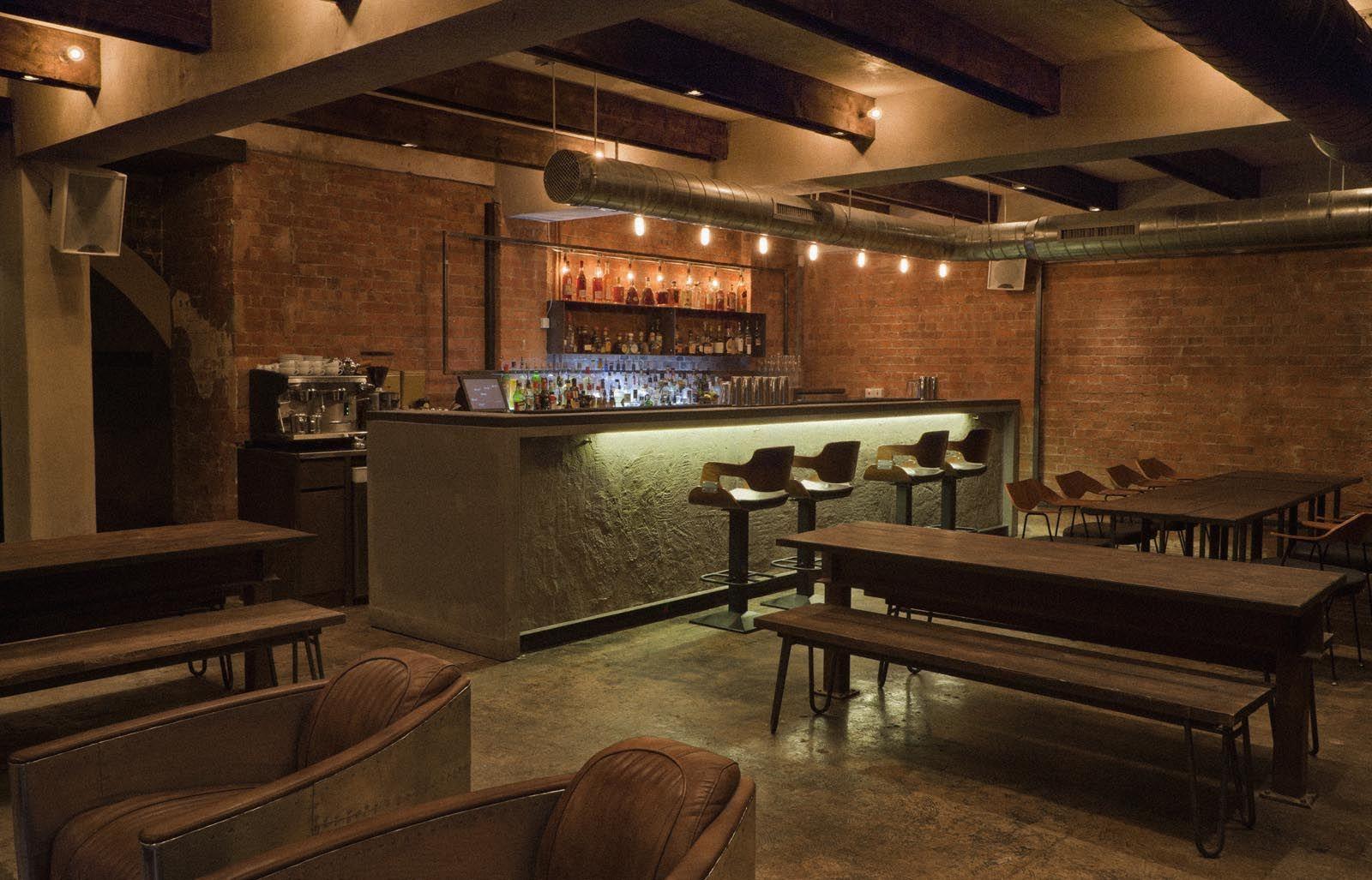 Restaurant Interior Design: Industrial Environment Style  Restaurant interior, Bar restaurant