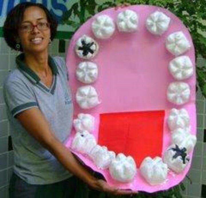 construir una boca amb càries