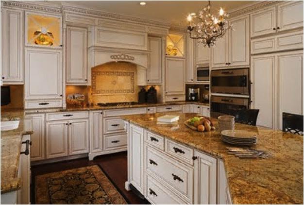 Cream Cabinets With White Trim