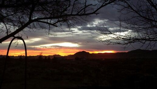 Dec sunset