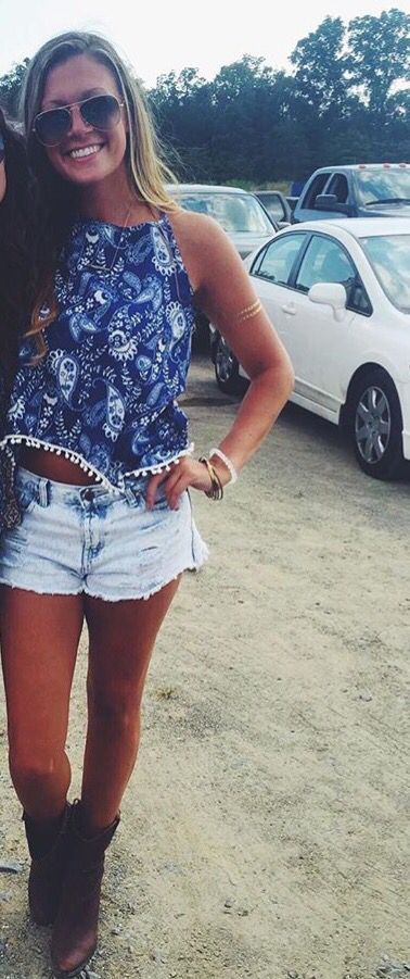 Summer Country Concert Outfit Jeans - Summer Country Concert Outfit