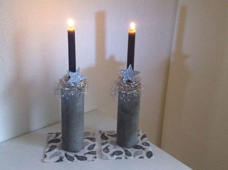 weihnachts deko artikelnr 030 von beton and more barbara kamp auf beton pinterest. Black Bedroom Furniture Sets. Home Design Ideas