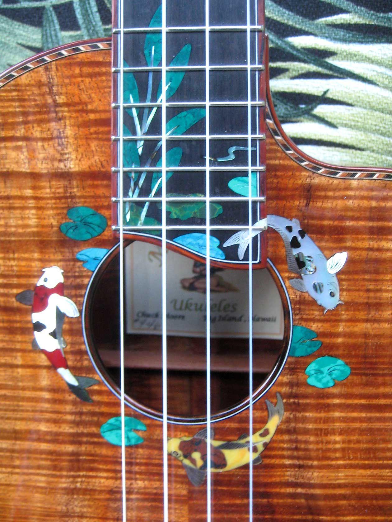 Ukulele Headstock Design Style 1 Soprano Ukulele Art
