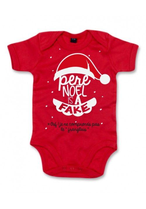 ac7a62ea05f63 Body bébé Père Noël is a fake