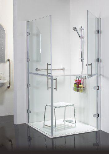 Access 1000 X 1000 Disabled Shower Doors Split Glass Enclosure Pw Http Www Amazon Co Uk Dp B00b1fp8rs Ref Cm Sw R Pi Dp Y Bevb1g5tp0e