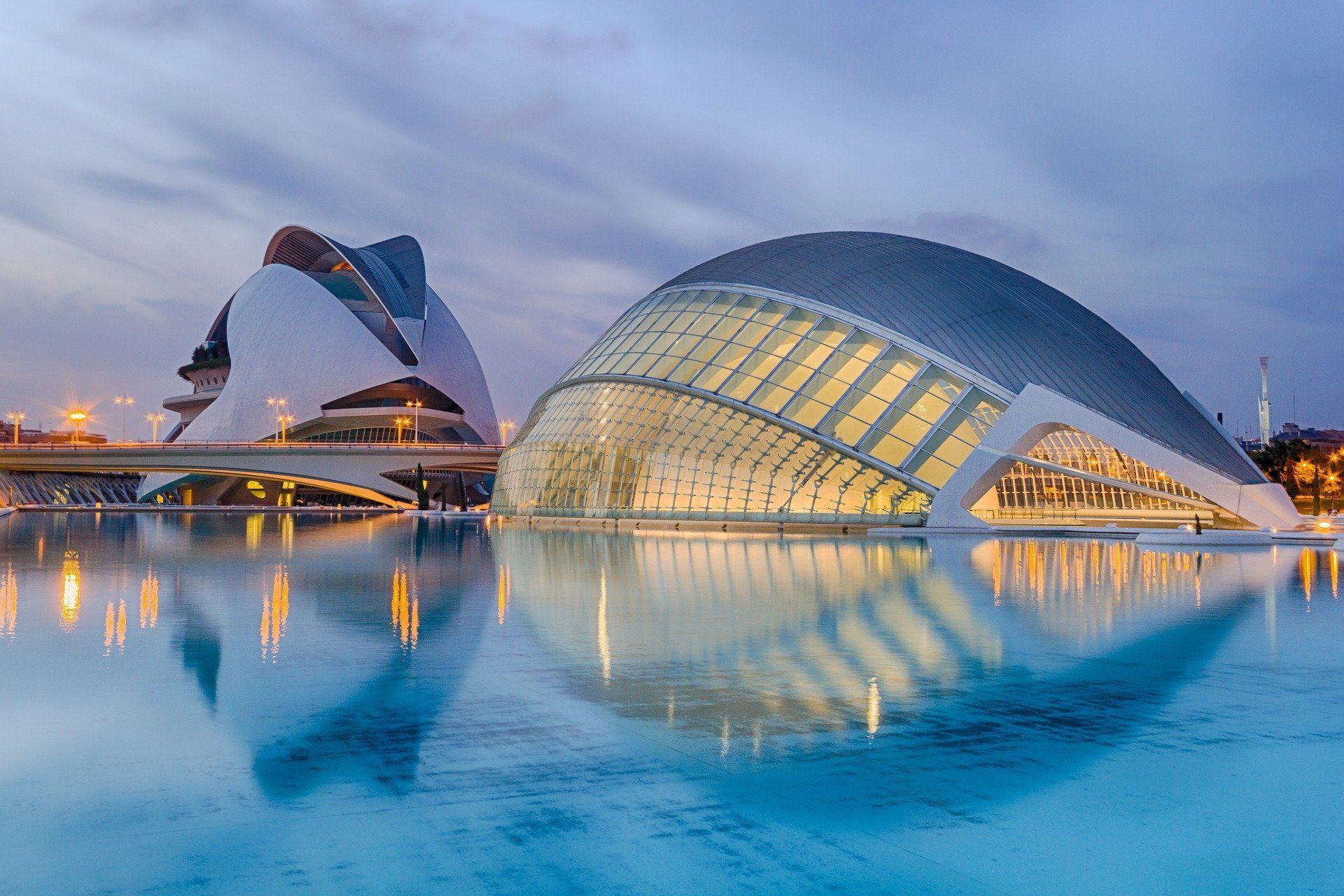 Ciudad De Las Artes Y Las Ciencias Valencia Spain 1920x1080 In 2020 Cool Places To Visit Spain And Portugal Spain Tour