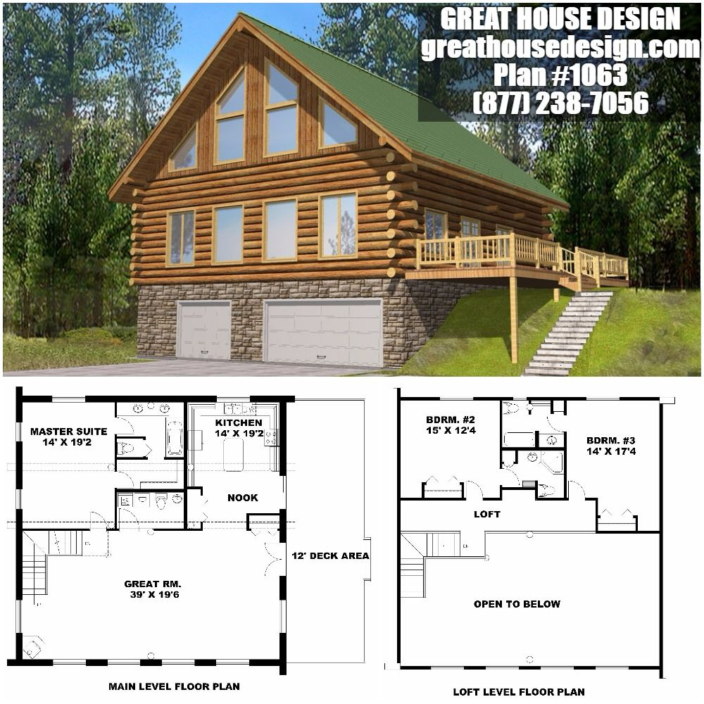 Home Plan Great House Design Log Home Plans House Plans Small House Design