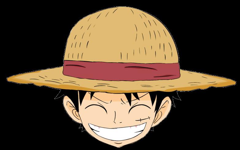 Kepala Monkey D Luffy One Piece 284 29 Png 783 489 Menggambar Kepala Kartun Gambar