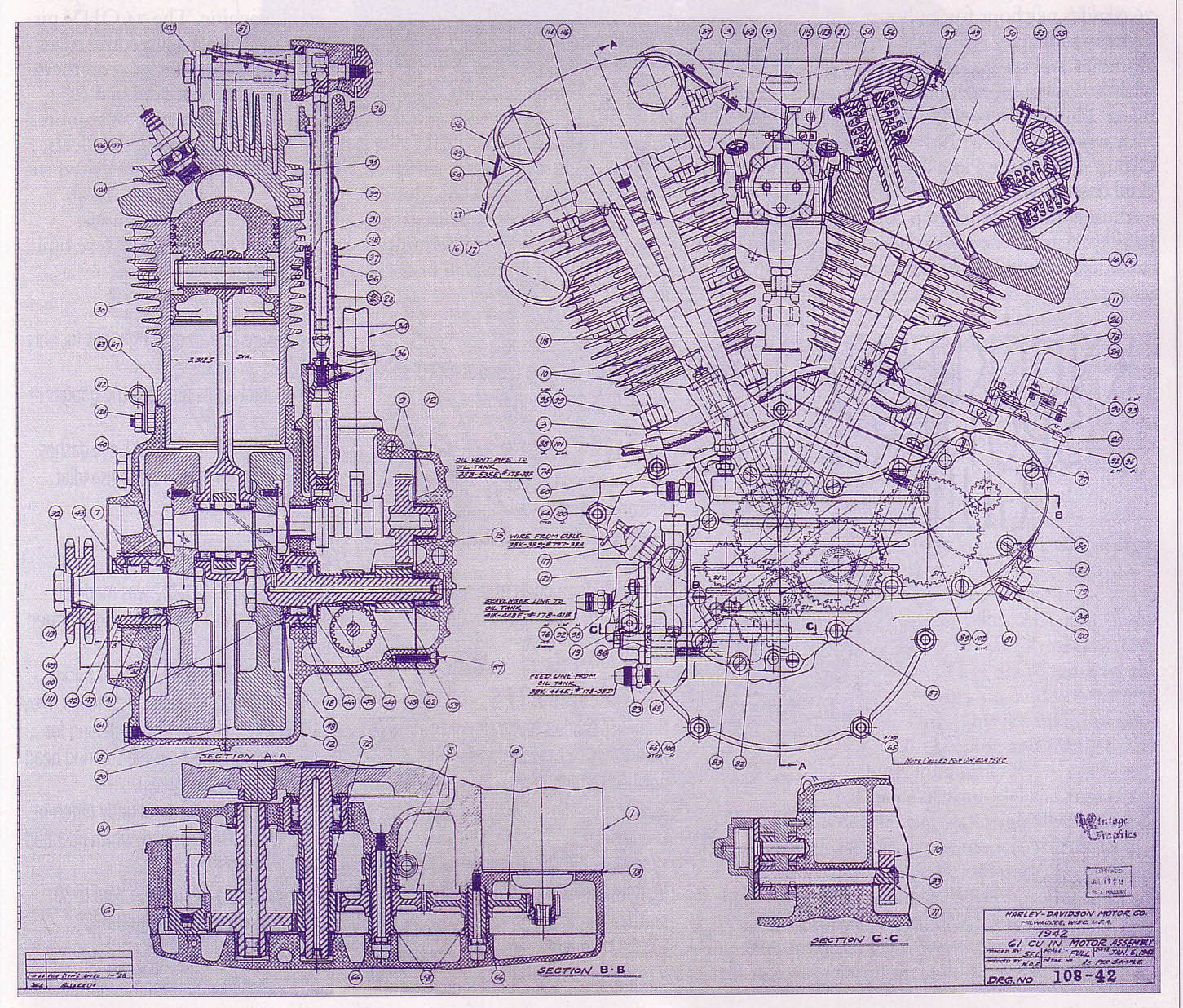 harley davidson blueprints - Google Search