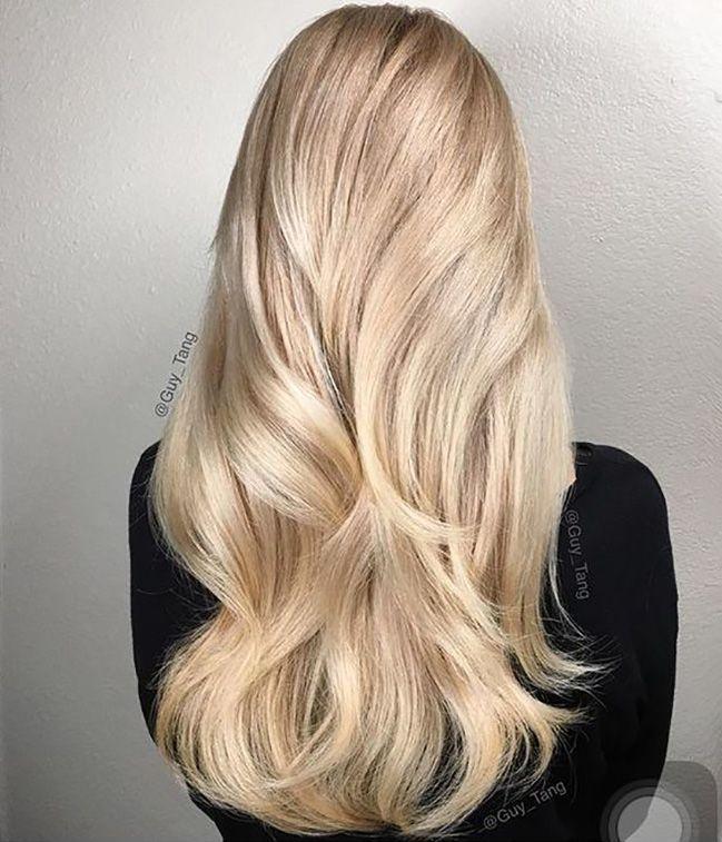 Blonde | Chignon, Cheveux et Blond